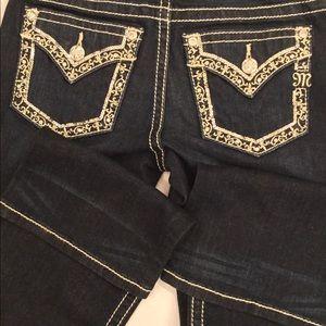 NWT Miss Me sz26 x34 Chloe boot cut jeans